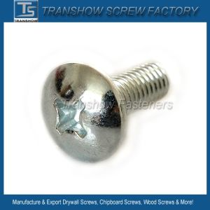 Mild Steel Galvanized Cross Recess Pan Head Screw pictures & photos