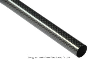 High Performance 3k Roll-Wrapped Carbon Fiber Tube/Pole pictures & photos