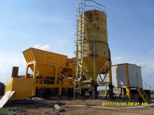 200t/H Movable Soil Cement Mixing Plant pictures & photos