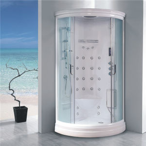 Cheap Price Complete Round Sliding Glass Circle Shower Cabin for Sale pictures & photos