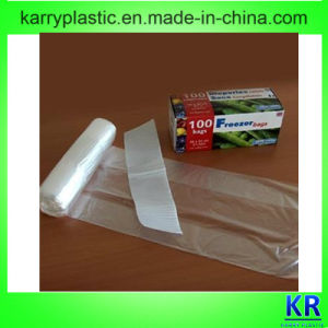 HDPE Flat Bags Freezer Bags on Roll pictures & photos