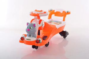 New Fashion Baby Swing Car with Music and Backrest Wholesale 606 pictures & photos