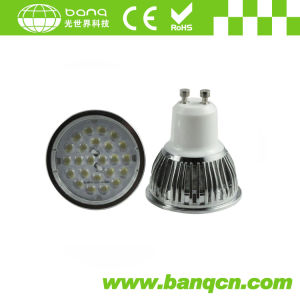 TUV Listed 5050 SMD LED Light GU10 with 60 Degree Lens 370lm (BQ-GEN-II-GU10)