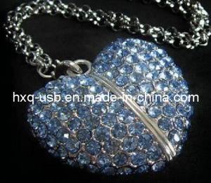 Beautiful Diamond Heart USB (HXQ-D008)