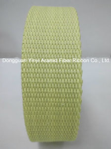 1-1/2′′ Yellow Bead Aramid Fiber Webbing pictures & photos