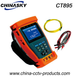 "3.5""TFT-LCD CCTV Video Tester Monitor with Optical Power Meter (CT895) pictures & photos"