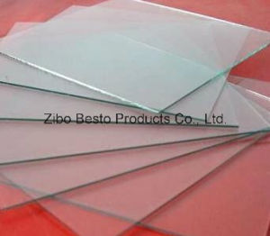 12 Inch, 14 Inch Table Top Glass with Beveled Edge pictures & photos
