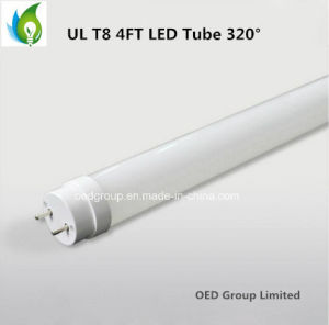 5 Year Warranty UL Listed T8 12W Glass LED Tube with 100-277VAC and 150lm/W pictures & photos