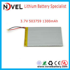 Rechargeable Lithium Polymer Battery for POS Machine with 3.7V 1300mAh