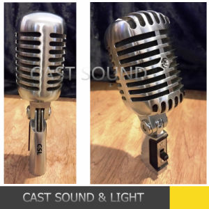 CSL 55sh Series Cardioid Dynamic Nostalgic Microphone pictures & photos