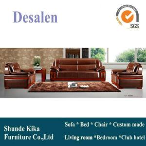 Brown Sofa, Leather Sofa, Office Sofa, China Sofa (8301) pictures & photos