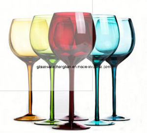 Colorful Red Wine Glass (SGS-01) pictures & photos