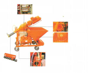 Rx30 Dry Mixed Mortar Spraying Machine for Construction pictures & photos