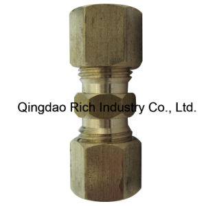 Forging Part Compression Fittings Brass/Coupling Sleeve pictures & photos
