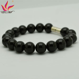 Classic Fashion Back Germanium Power Beads Bracelet Jewelry pictures & photos