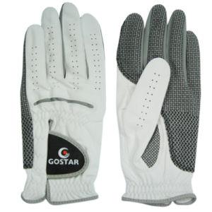 Pearl White Cabretta Golf Glove (CGL-16) pictures & photos