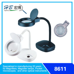 3D/8d 110V-120V/220V-240V 11W Energy Saving Magnifier Lamp pictures & photos