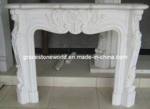 Marble Fireplace Mantel for Home (GS-FF-140) pictures & photos