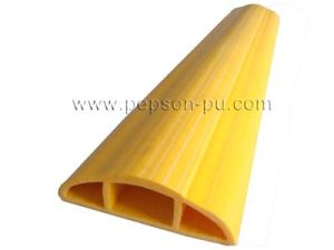 PU/ PVC/ Rubber Cable Protector Pipe, Cable Crosser pictures & photos