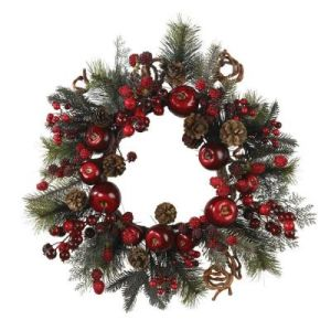 22in. Vibrant Multi-Colored Wreath with Stunning Apples and Berries (MY310.257.00) pictures & photos