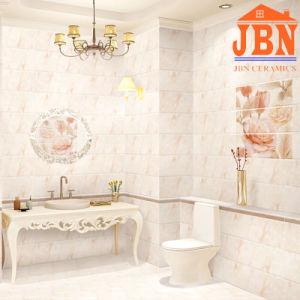 Non Slip Glazed 3D Inkjet Ceramic Bathroom Wall Tile (1LP26402) pictures & photos