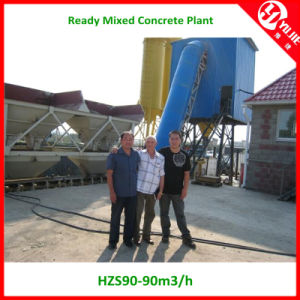 90m3/H PLC Controller Concrete Batching Plants for Russia pictures & photos
