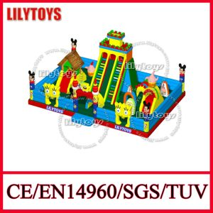 2015 New Kids Inflatable Outdoor Playground Equipment Jumping Castle (Lilytoys-New-014)