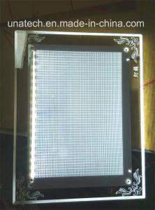 Indoor Club Crystal Super Slim LED LGP Advertising Backlit Film Light Box pictures & photos