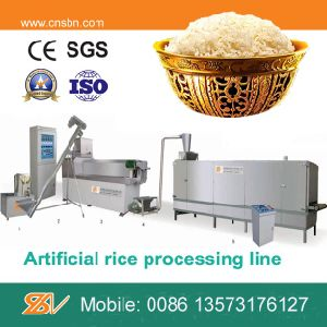 100-120kg/H Single Screw Extruder Artificial Rice Extrudering Machine pictures & photos