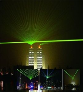 30W Outdoor Green Laser Light