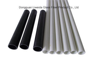 Corrosion Protection Fiberglass Pole, FRP/GRP Pipe Pole pictures & photos