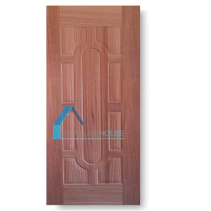 Door in Door Style Moulded Panels Beech Wood Veneered Plywood Door Skin pictures & photos