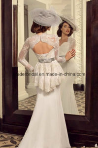 New Two Pieces Bridal Dresses Lace Mermaid Wedding Dress Z2073 pictures & photos
