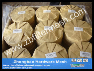 500 Mesh, 0.025 mm Wire, Ss316L Filter Disc Screen, Extruder Screen, Filter Pack pictures & photos