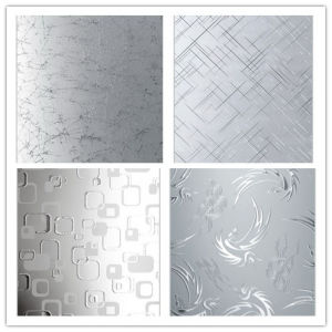 China Acid Etched Glass Frosted Glass Sandblasting Glass