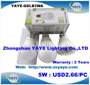 Yaye Hottest Sell 6W E27 LED Bulb / Aluminum 6W E27 LED Bulb / Dimmable 6W E27 LED Bulb pictures & photos