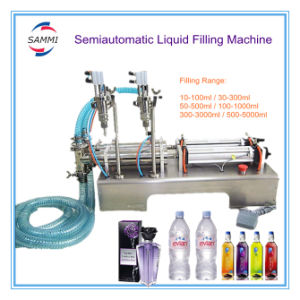 Hot Sale New Product Two Head Food Beverage Filling Machine, Soft Drink Filler (GFA-2Y-100)