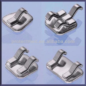Orthodontic Dental Lingual Self-Ligating Brackets with ISO13485 pictures & photos