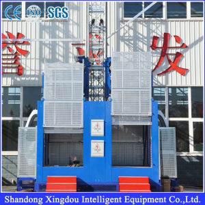 Sc Series China Supplier Elevator/Lift/Rack and Pinion pictures & photos