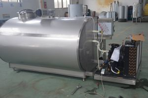 Food Sanitary Stainless Steel 5000L Milk Cooling Tank pictures & photos
