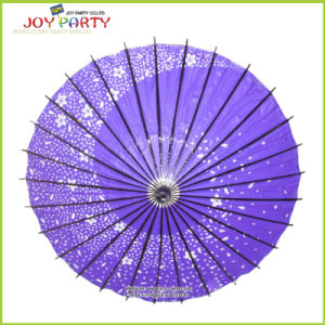 R42cm Oiled Paper Parasol for Party Decoration pictures & photos