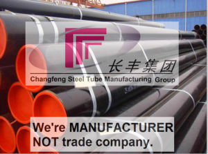 Welded Galvanized Round Carbon Steel Pipe for Chemical Industry pictures & photos