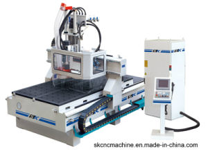 CNC Router Machine Center with Atc Tool Changer for Wood Door Processing (SK-M481H)