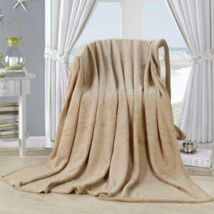 Textile Blanket, Fleece Blanket, Solid Coral Fleece Blanket pictures & photos