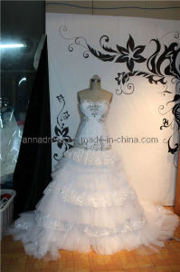 Heavy Beads Wedding Dresses (Z-044)