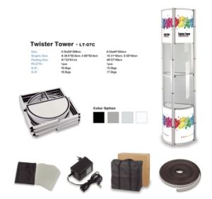 Trade Show Pop up Tower Display Stand (LT-07C) pictures & photos