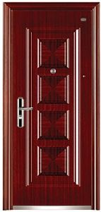 Entrance Security Steel Door for Living Building pictures & photos