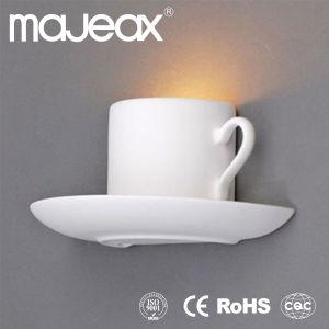 Indoor Fixture Decorative Gypsum G9 Wall Lamp (MW-8198)