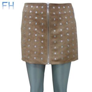 Ladies Fashion Skirt (FH2014195)