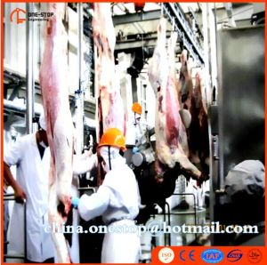 Halal Slaughter Machine Cow Slaughter Line Turnkey Project Cattle Sheep pictures & photos